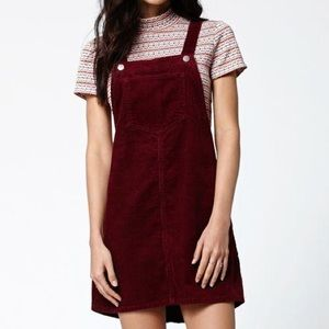 KENDALL & KYLIE CORDUROY OVERALL DRESS